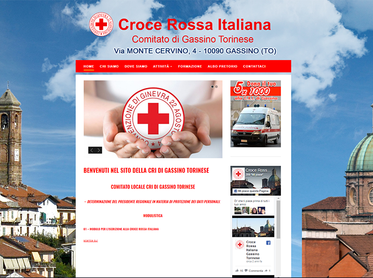 CRI – Comitato locale di Gassino Torinese