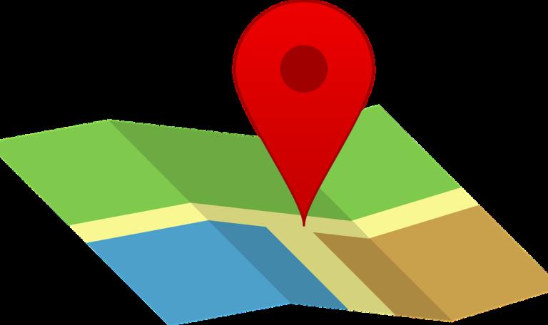 map pin search